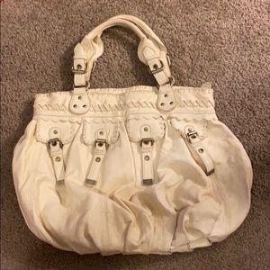 CYNTHIA ROWLEY ivory handbag
